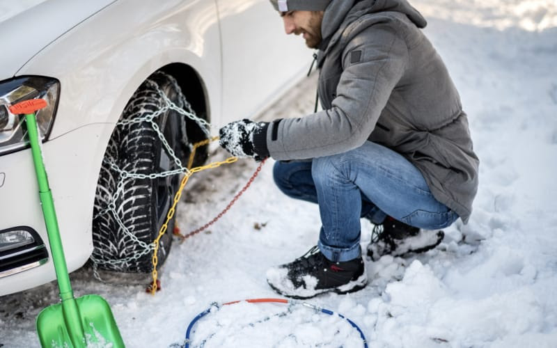 What Are Winter Tyres Snow Chains And Snow Socks