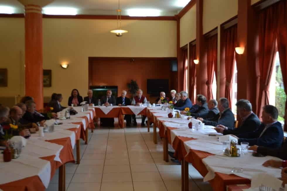 Ενημερωτική συνάντηση Συνδέσμων της Περιφέρειας Πελοποννήσου ,Δυτικής Ελλάδας και Μακεδονίας , 24-10