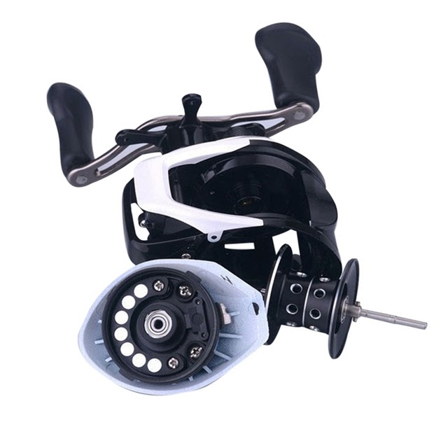 12BB Stainless Steel Adjustable Magnetic Brake Waterdrop Fishing Reel Wheel