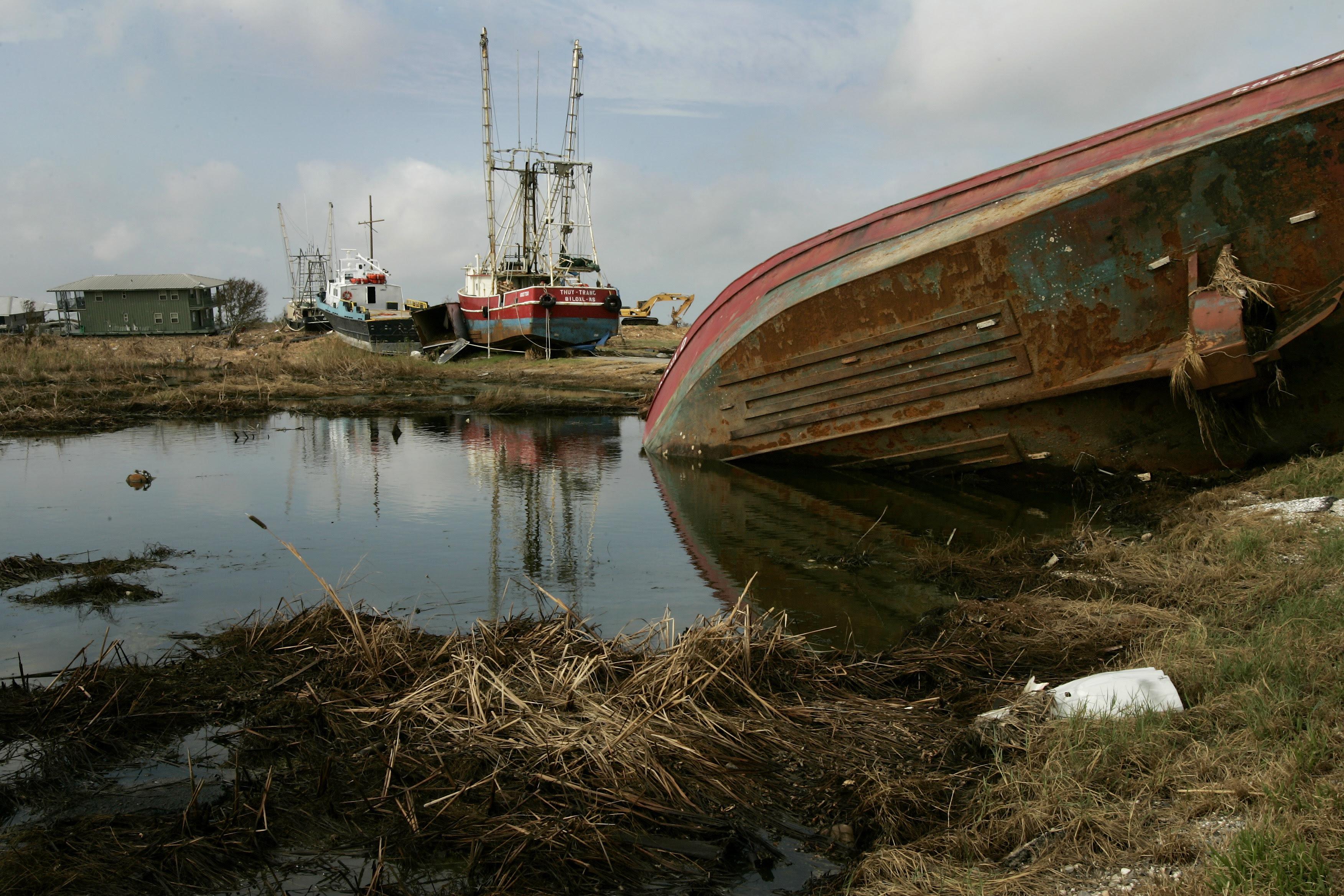 Katrina - Venice, Louisiana - Ten years after Hurricane ...