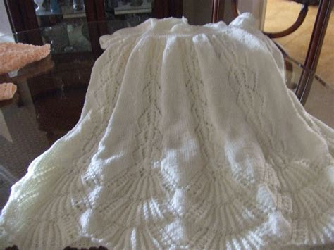 Pattern for Traditional Hand Knit Christening Gown