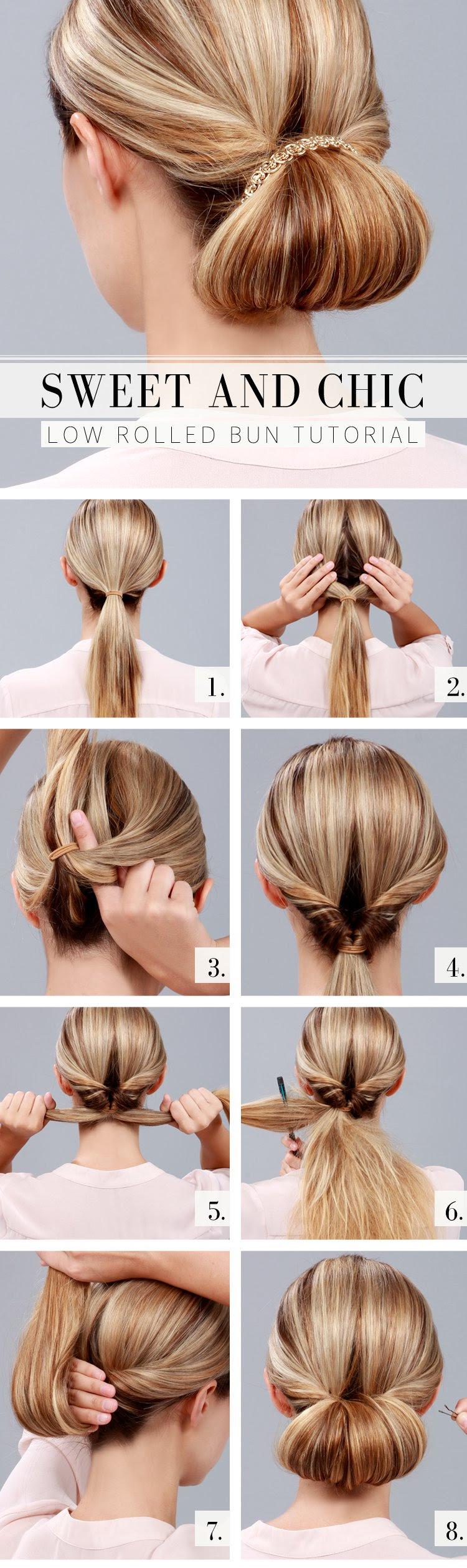 Idea 12+ Easy Bun Hairstyle Tutorials