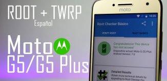 Rootear el Moto G5 Plus