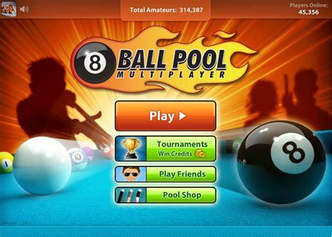 game asyik  ball pool multiplayer miniclip warnet