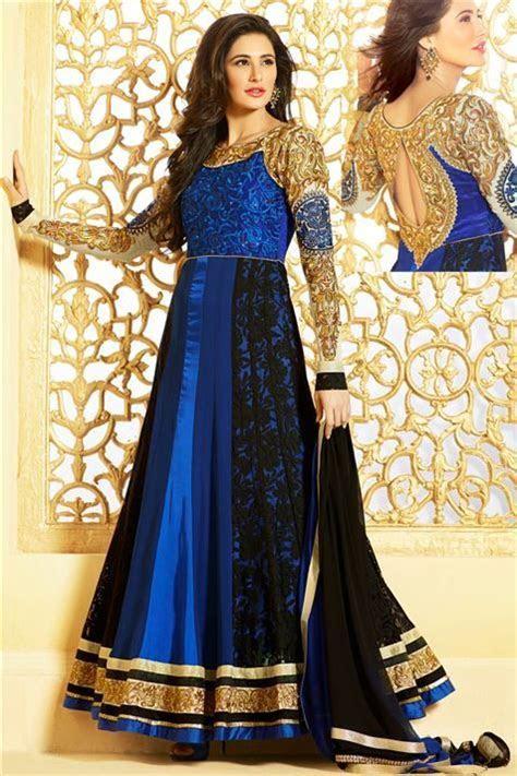 Buy Latest Party Wear Designer Extra Long Anarkali Dress