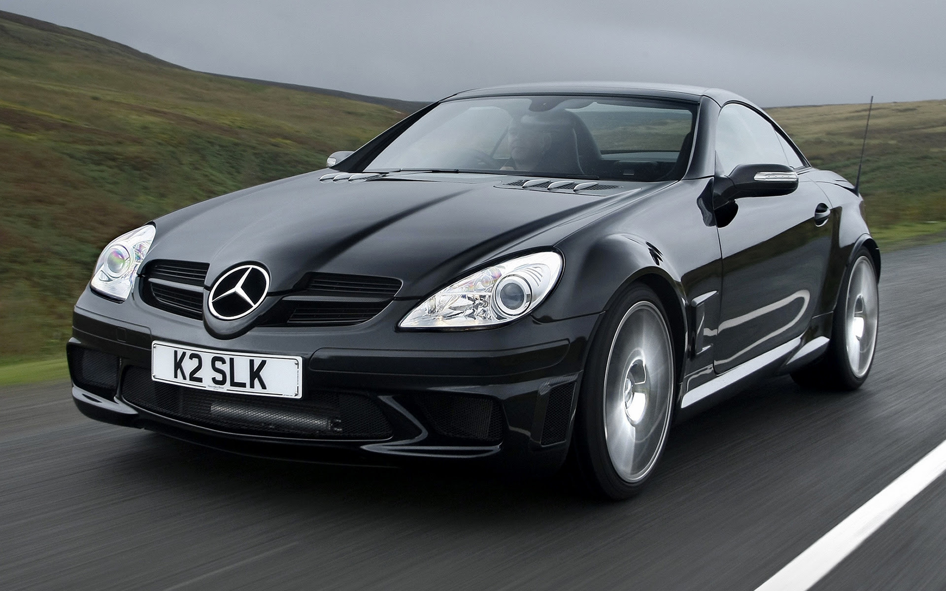 Mercedes-Benz SLK 55 AMG Black Series (2006) UK Wallpapers ...