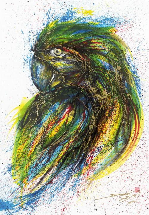 Artist Hua Tunan