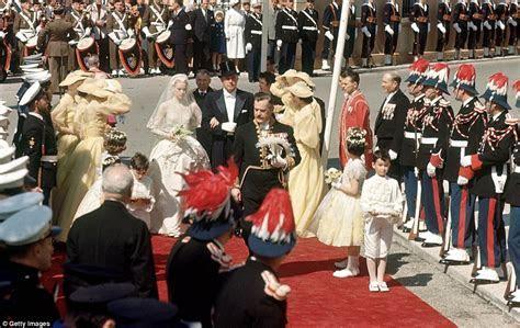 Grace Kelly's wedding to to Prince Rainier of Monaco is
