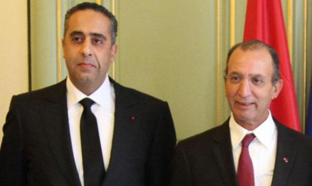Hassad et Hammouchi effectuent une visite de travail à Bruxelles