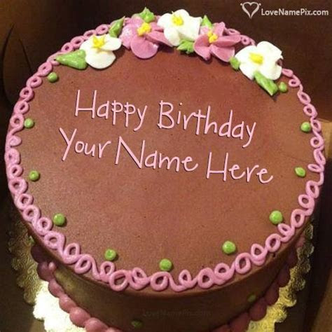 Birthday Cake With Photo Edit With Name Photo   Happy
