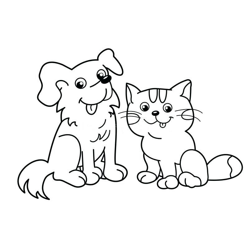 Cartoon Cats Drawing at GetDrawings | Free download