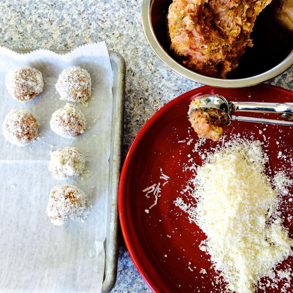 Chicken Marsala Meatballs - Mama's High Strung