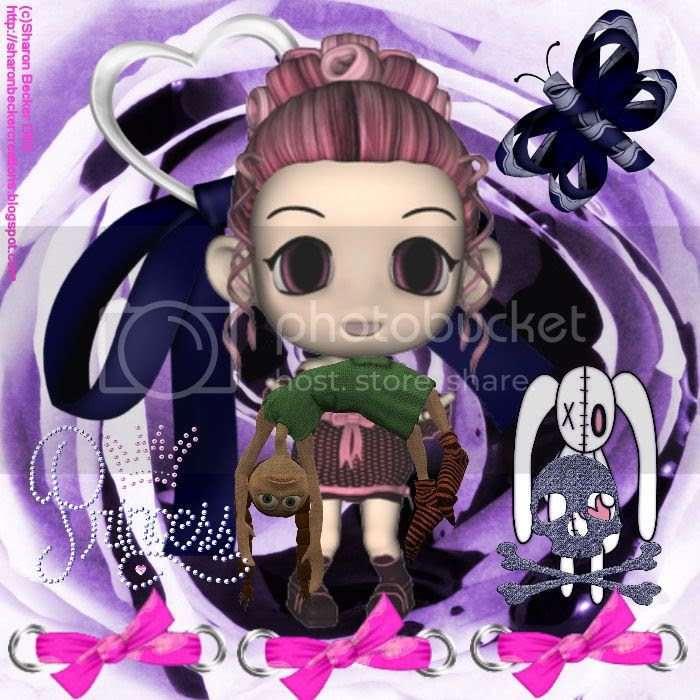 Chibi,Princess,Gothic