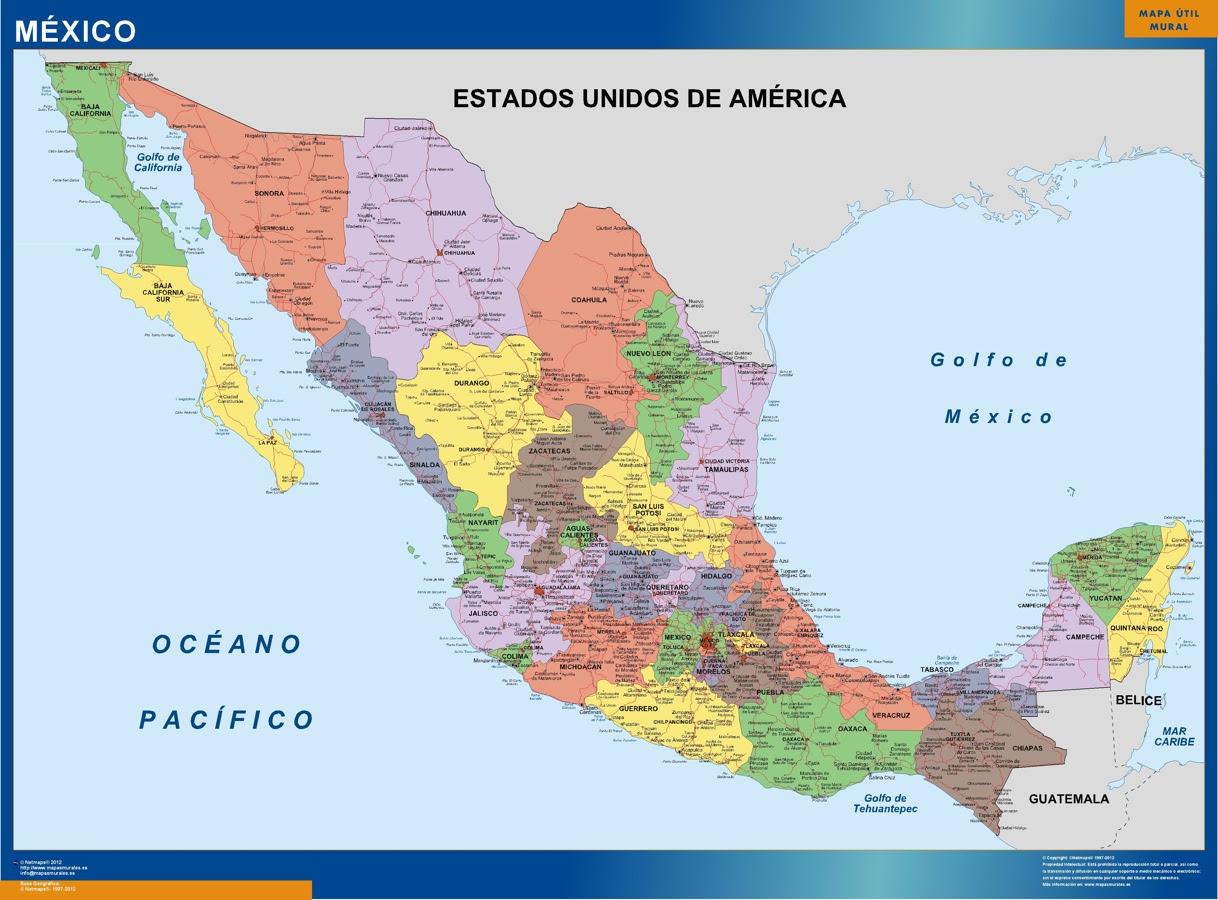 Mejico O Mexico Mapa.Mejico Mapa Mapa