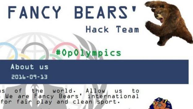Grupo de hackers Fancy Bear
