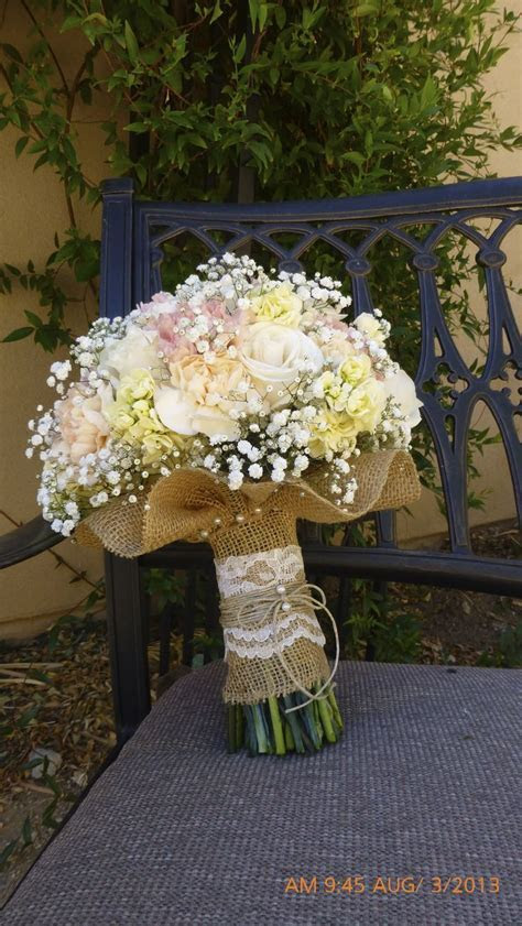 burlap wedding decorations   Soft & rustic  burlap wrap