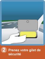 sécurité autoroute : prenez votre gilet de sécurité