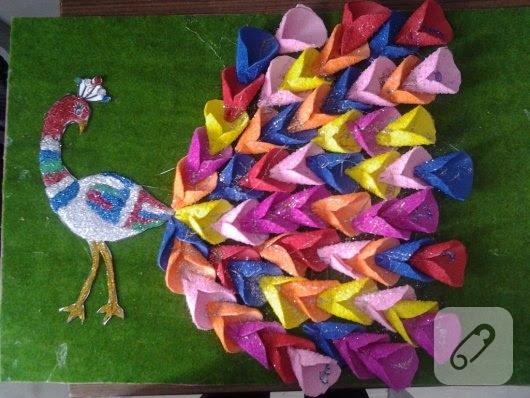 Anasınıfları Için Sergilik Tavus Kuşu Faaliyeti 10marifetorg
