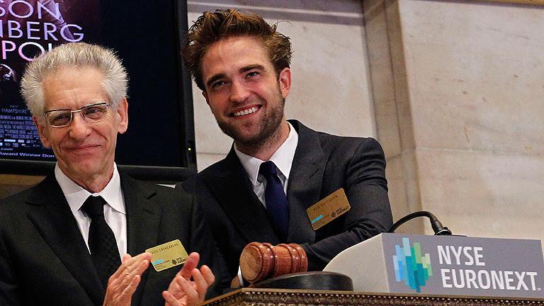 """Cronenberg y Pattinson presentan """"Cosmópolis"""" en Nueva York"""