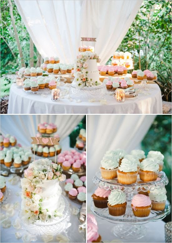 47 Adorable And Yummy Cupcake Display Ideas For Your Wedding