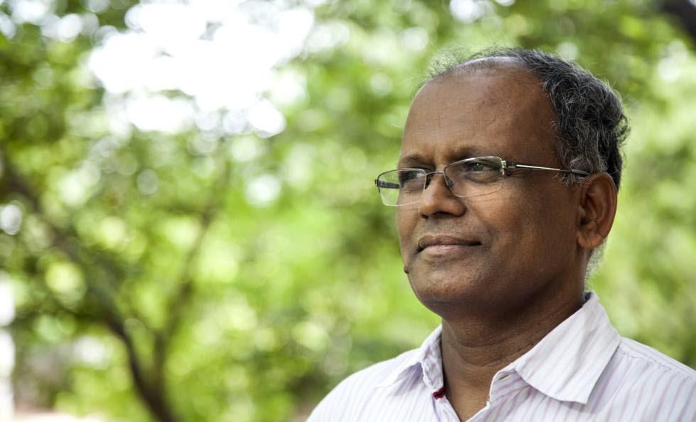 Dasarath Ramadu, director del sector de personas discapacitadas de la Fundación Vicente Ferrer.