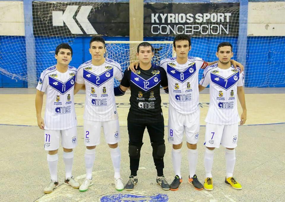 Quinteto titular de Concepción