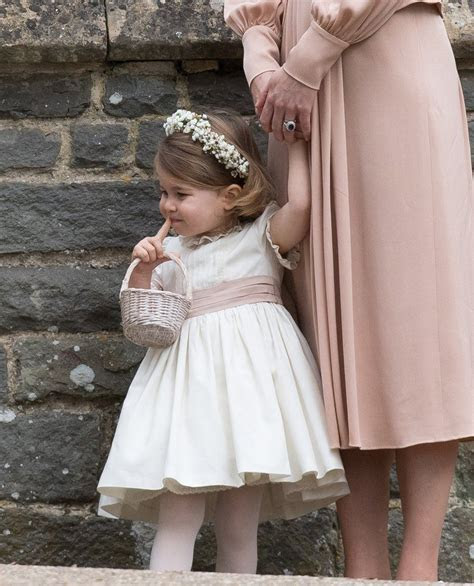 Kate Middleton Gives Princess Charlotte a Flower Girl Pep