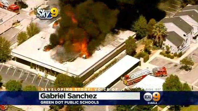 Charter High School Called Total Loss After Massive Fire