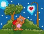 Valentine's Cat