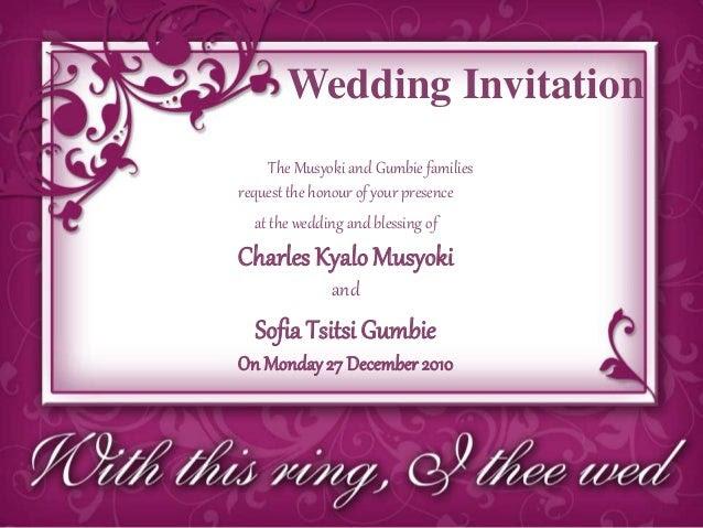 Popular wedding invitation blog wedding invitation letter to my friend wedding invitation letter to my friend stopboris Image collections