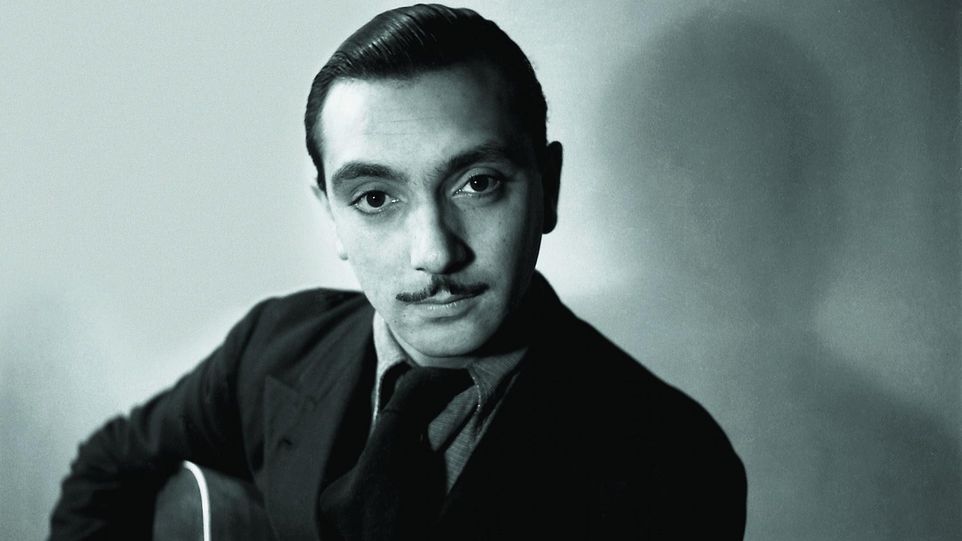 Django Reinhardt Young Portrait