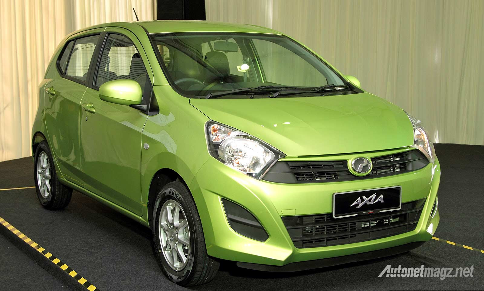 First Impression Review Perodua Axia, Kembaran Agya-Ayla