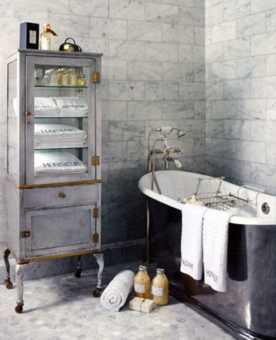 ♅ Dove Gray Home Decor ♅   gray bath