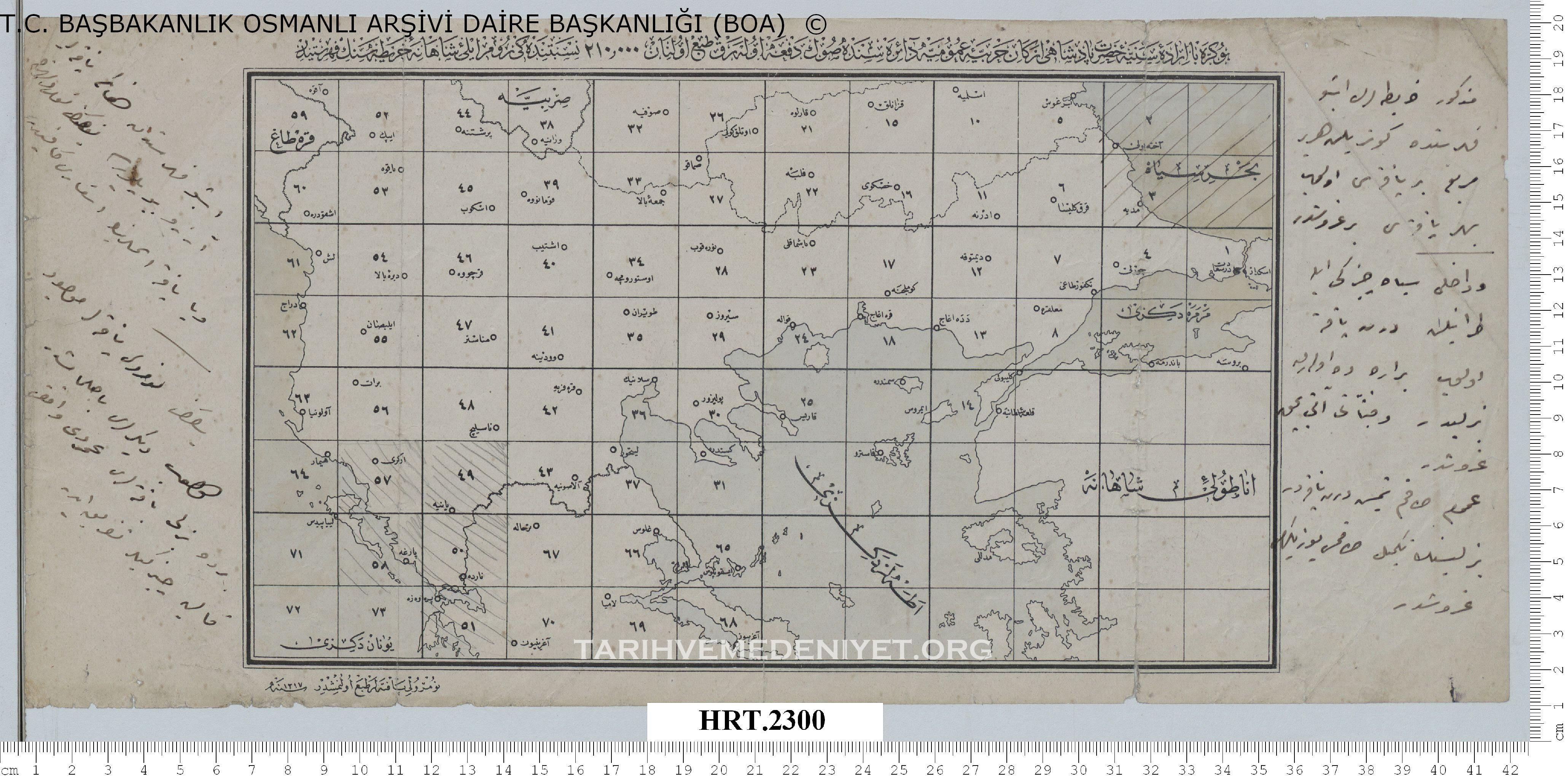 Tarih Ve Medeniyet Osmanlı Arşivinden Orjinal Haritalar Tarih Ve