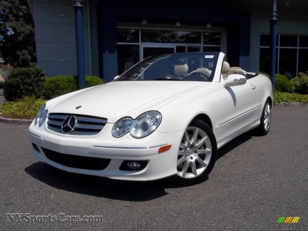 2007 Mercedes-Benz CLK 350 Cabriolet in Arctic White ...