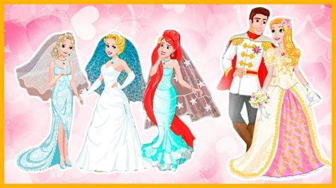 Disney Princess Rapunzel and Flynn Wedding Day and