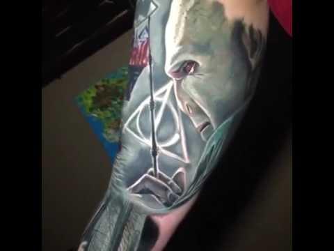 Pocos Tatuajes De Harry Potter Tienen Más Magia Que éste