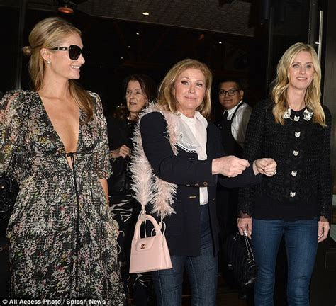 Kathy Hilton celebrates her 59th birthday with Paris and