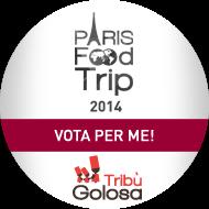 Vota per me, per il Paris Food Trip 2014!