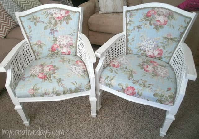 Reupholstered Chairs mycreativedays.com
