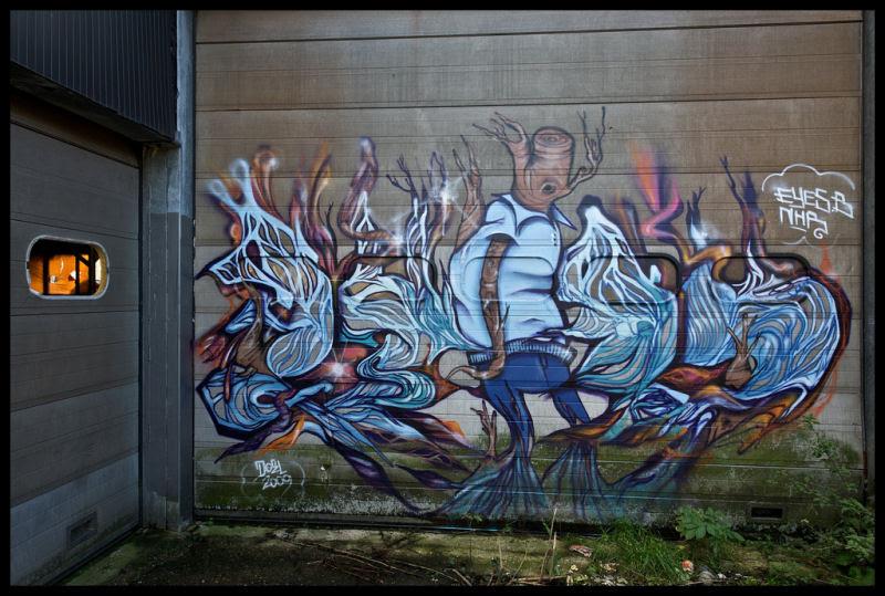 A vila condenada de Doel e sua arte de rua surpreendente 23