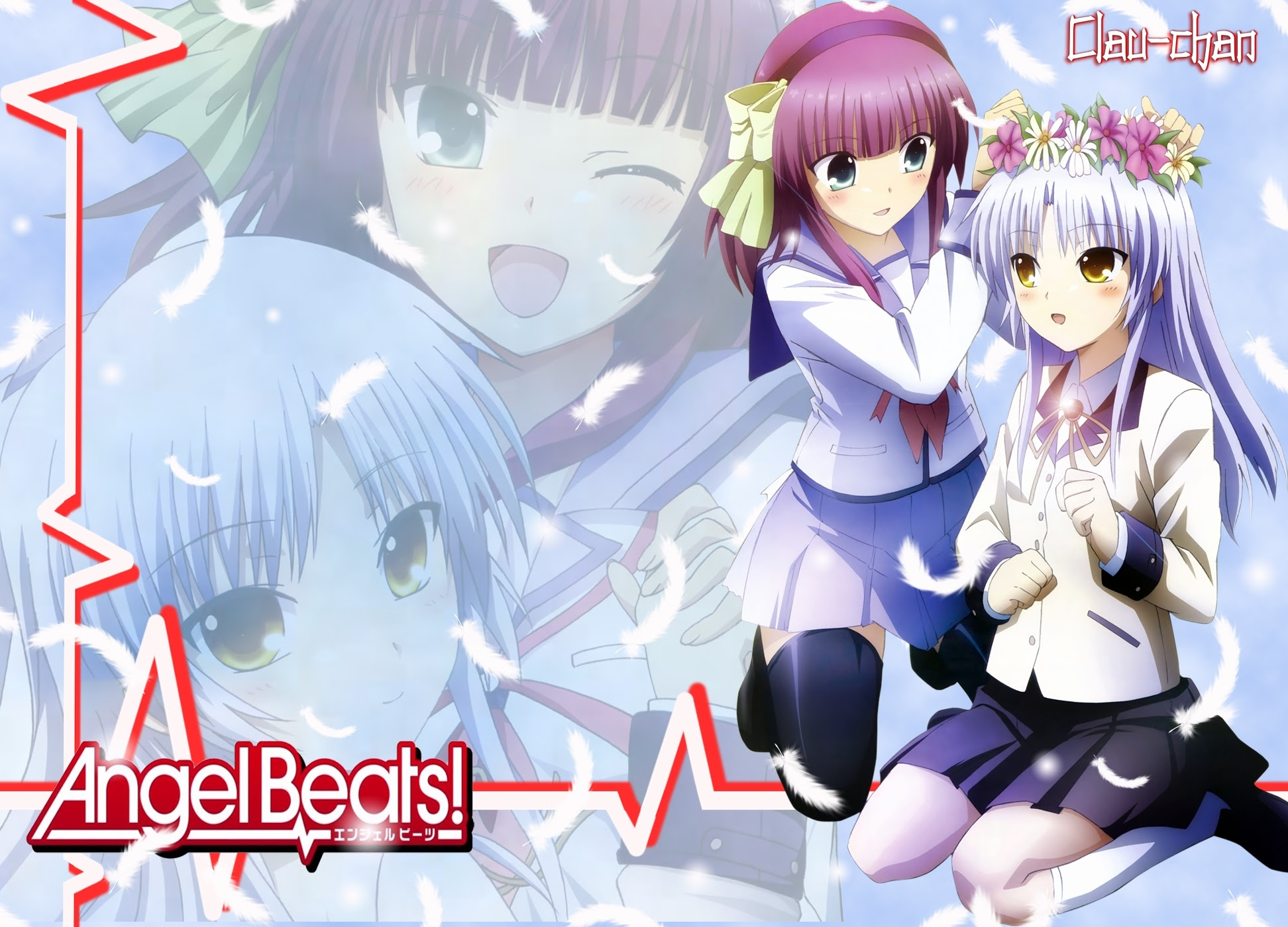 厳選100枚 Angel Beats エンジェルビーツ 画像 壁紙 動画集