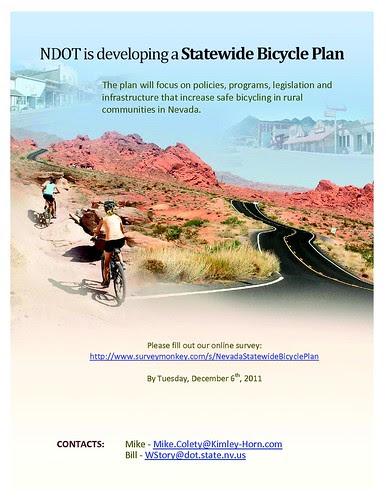 NDOT Bicycle Plan Survey