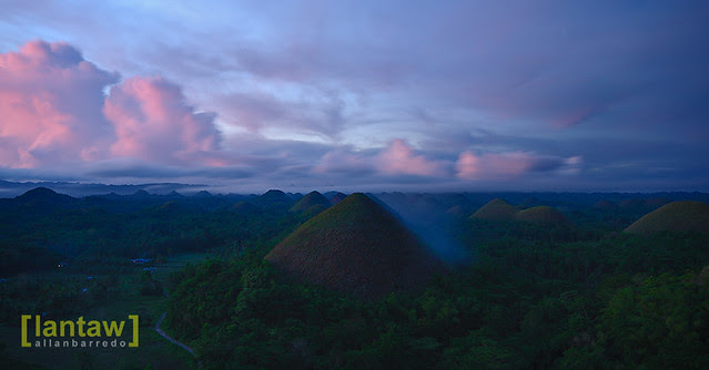 Chocolate Hills at Dawn