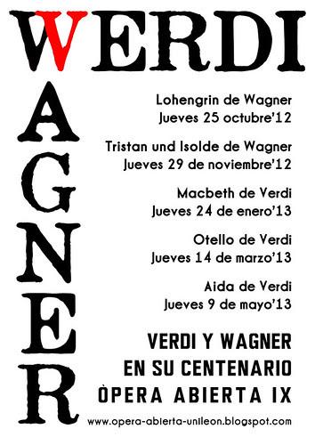 VERDI Y WAGNER EN SU CENTENARIO - ÓPERA ABIERTA IX by juanluisgx