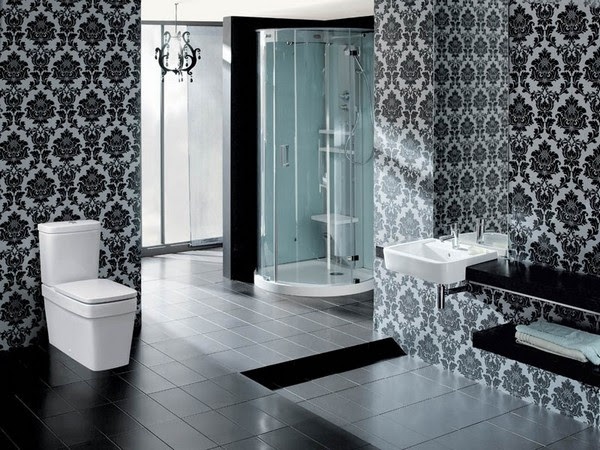 Black And White Bathroom Interior Design Tips Home Interior Design