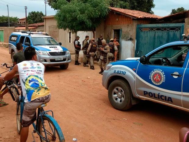 Crime ocorreu na manhã desta quarta-feira, em Salvador (Foto: Luís Felipe/ Blog do Sigi Vilares)