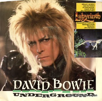 BOWIE, DAVID underground
