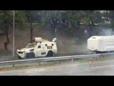 Lo Que Usted No Vio De La Brutal Represión De Este #1May En Caracas