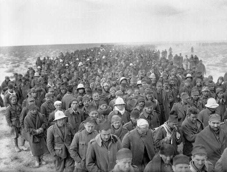 File:Italian soldiers taken prisoner during Operation Compass.jpg